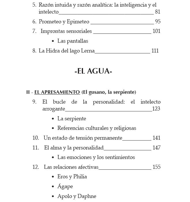 Fibonacci y el alma humana - Indice 2