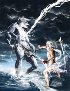 Cronos y Zeus